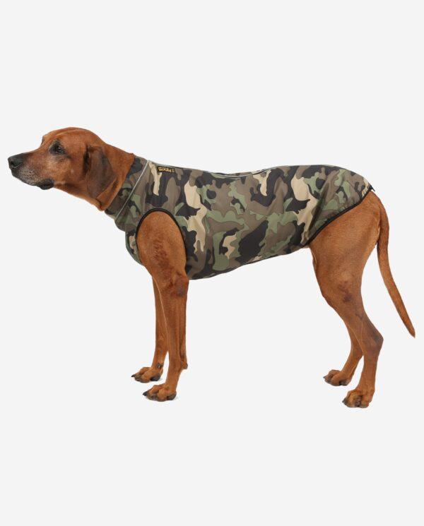 RR DOG`s WARE® Hundemantel Softshell Wasserdicht Camouflage Wald