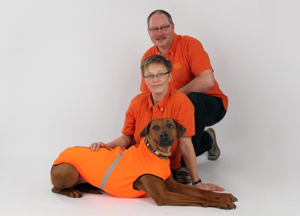 Jörg, Carmen und Wilma von RR DOG`s WARE