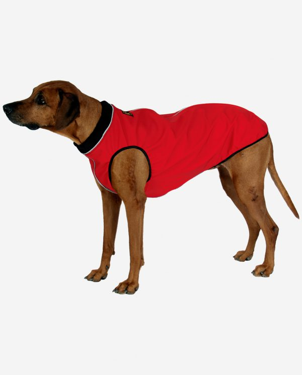 RR DOG`s WARE® Hundemantel Softshell Wasserdicht Rot
