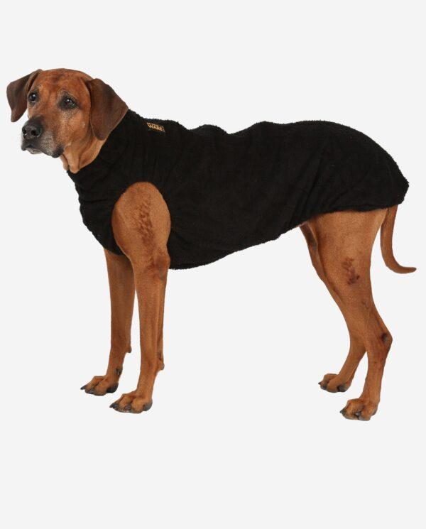 RR DOG`s WARE® Hundebademantel schwarz