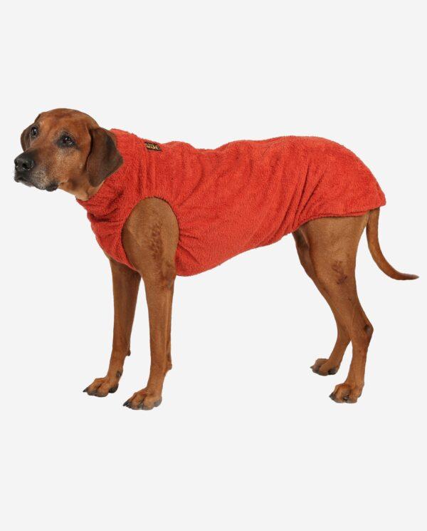 RR DOG`s WARE® Hundebademantel zimtorange