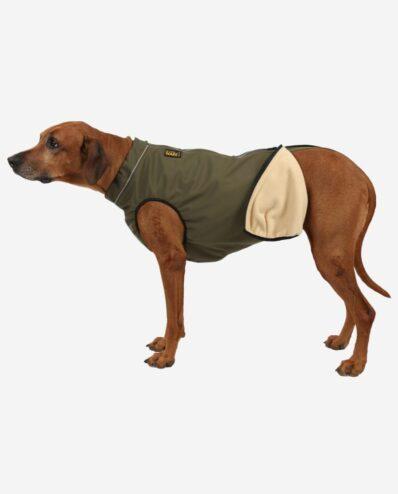 RR DOG`s WARE® Hundemantel Softshell POLAR Wasserdicht Khakigrün
