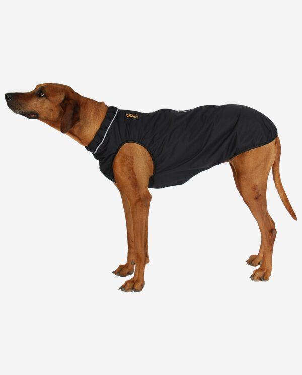RR DOG`s WARE® Hunderegenjacke schwarz strapazierfähig