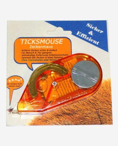 Zeckenmaus Ticksmouse Verpackung Vorne
