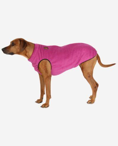 RR DOG`s WARE Bodywarmer Fleece Pinkbeere