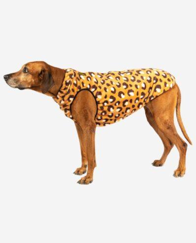 Hundemantel Bodywarmer Polarfleece Design Leo RR DOG`s WARE Hundebekleidung