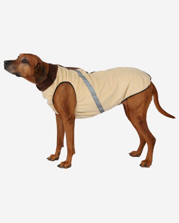 Hundewendemantel Polarfleece Beige RR DOG`s WARE